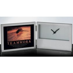 Teamwork Rowers Desk Clock