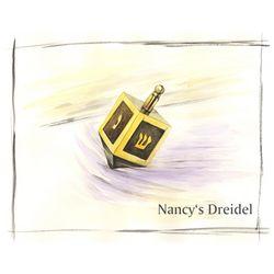 Jewish Dradle Personalized Art Print