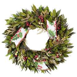 Holy Berry Holiday Wreath