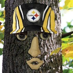 Pittsburgh Steelers Resin Tree Face Ornament