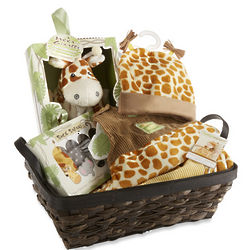 Jakka the Giraffe Newborn Baby Gift Basket