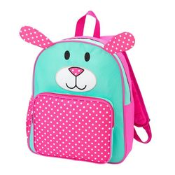 Personalized Pink Puppy Preschool Backpack