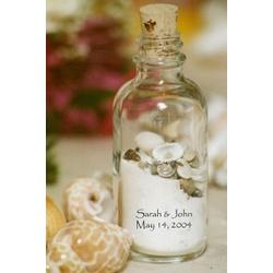 The Sand & Shell Bottle Wedding Favor