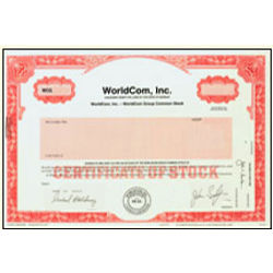 A Share of WorldCom Stock