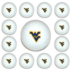 West Virginia Mountaineers Golf Ball Pack