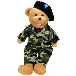 American Heroes Singing Army Bear