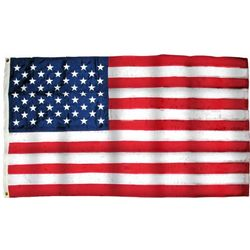 Embroidered Nylon American Made US Flag