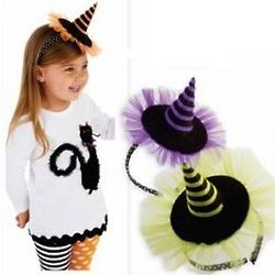 Big Girl Soft Headband Witch Hat
