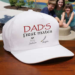 Personalized First Mate's Hat
