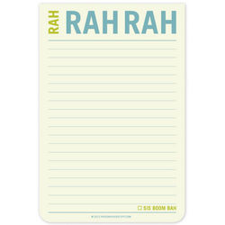 Rah Rah Rah Jumbo Sticky Notes