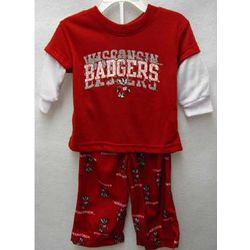 Wisconsin Badgers Infant Pajamas