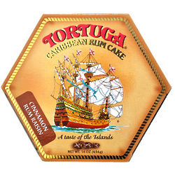 Tortuga Cinnamon Raisin Rum Cake