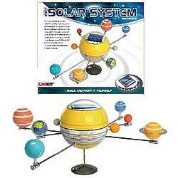 Mini Solar Powered Solar System Kit