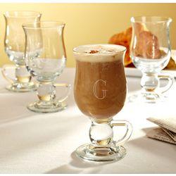 Personalized Creamy Cappuccino Glasses