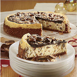 Heath Toffee Chunk Postpaid Cheesecake