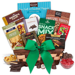 Christmas Delicious Treats Gourmet Gift Basket