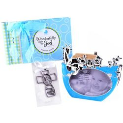 Baby Boy Baptism Gift Bag