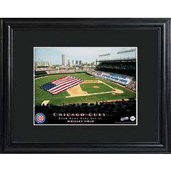 Framed Personalized Chicago Cubs Stadium Print