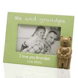 Me and Grandpa Customized Picture Frame