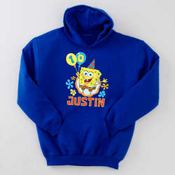 Personalized SpongeBob Birthday Hoodie