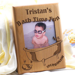 Splish Splash Personalized Bath Time Photo Frame