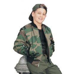 Kid's Woodland Camo Tanker Jacket