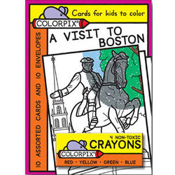 A Visit to Boston Colorpix Cards