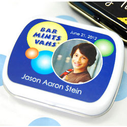 Personalized Bar or Bat Mitzvah Mint Tin