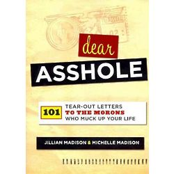 Dear A-hole Book