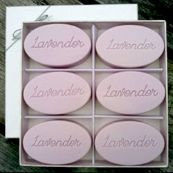 Personalized Signature Spa Inspire Lavender Soaps