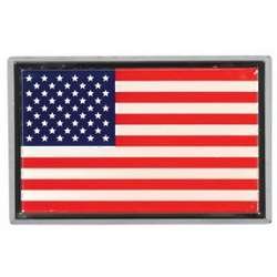 US Flag Auto Emblem