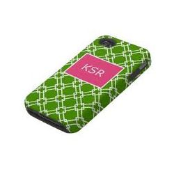 Personalized Green with Envy Cell Phone Cover