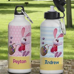 Personalized Peter Cottontail Kid's Water Bottle