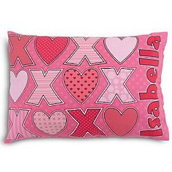 Personalized Kid's XOXO Pillowcase