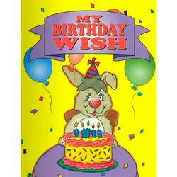 """My Birthday Wish"" a Personalized Story Book"
