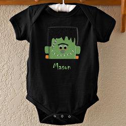 Personalized Freaky Frankie Baby Bodysuit
