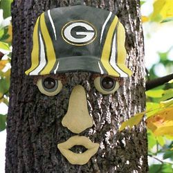 Green Bay Packers Resin Tree Face Ornament