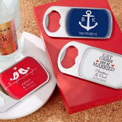 Epoxy Dome Personalized Bottle Openers