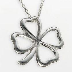 Sterling Silver Clover Pendant