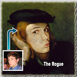 Personalized 'The Rogue' Masterpiece