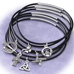 Six-Strand Celtic Charm Bracelet