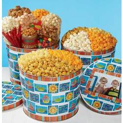 Summertime Popcorn Tin