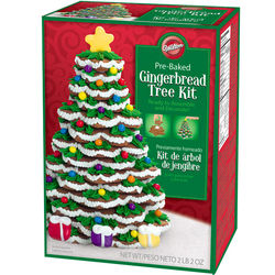 Gingerbread Christmas Cookie Tree Kit