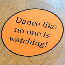Custom Text Dance Floor Decal