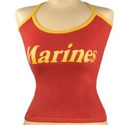 Red Marines Tank Top
