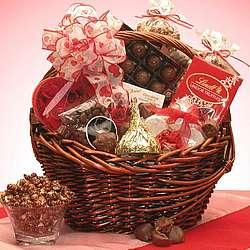 Valentine Chocolate Gourmet Gift Basket