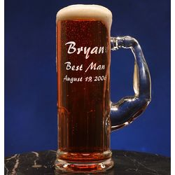 Personalized Groomsmen Muscle Beer Mug