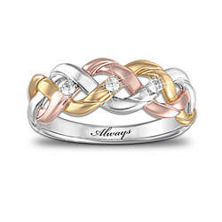 Strength Of Our Faith Diamond Ring
