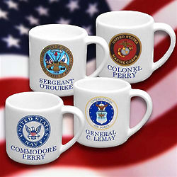 Personalized Military Mug