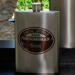 Bridal Party Special Reserved Flask